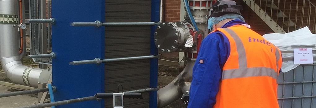 Pasteuriser Inspection Heat Exchanger Testing