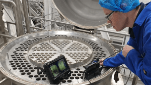 Heat exchanger and evaporator tube bundle inspection using innovative non destructive testing methods and solutions